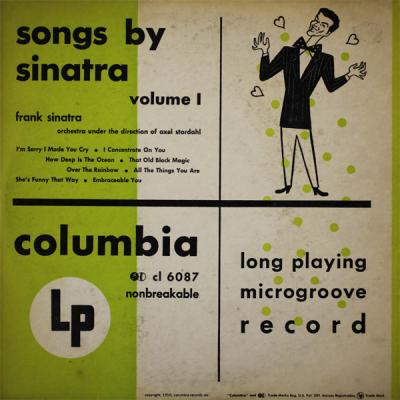 Frank Sinatra - Songs by Sinatra, Volume 1