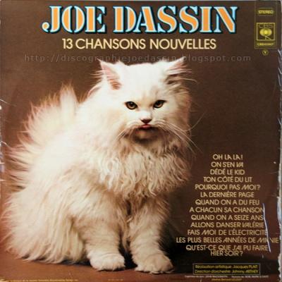 Joe Dassin - 13 Chansons Nouvelles