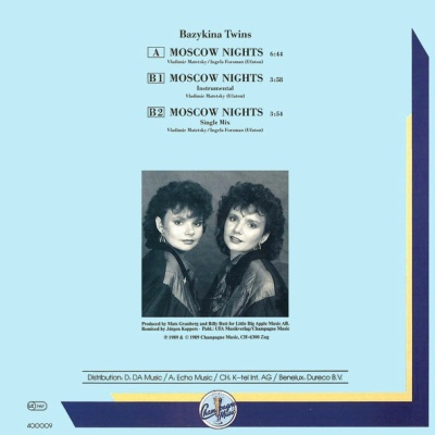 Bazykina Twins - Moscow Nights (Single)