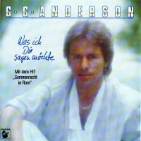 G.G. Anderson - Was Ich Dir Sagen Möchte (Album)