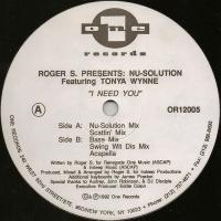 Roger Sanchez - I Need You