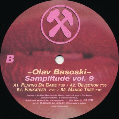 Olav Basoski - Samplitude Vol. 9 (Album)