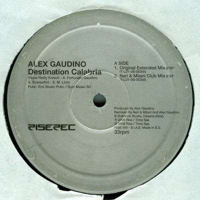Alex Gaudino - Destination Calabria