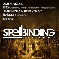 Amir Hussain - Riffa-Reliquary (Single)