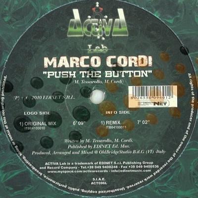 Marco Cordi - Push the Button WEB (Album)