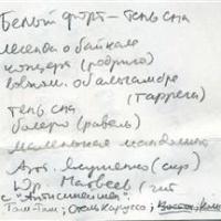 Белый Острог - Тень сна (Cassette) (Album)