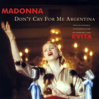 Madonna - Don't Cry For Me Argentina (Single)