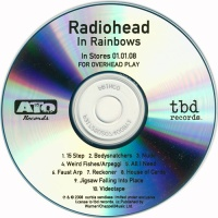 Radiohead - In Rainbows (For Overhead Play) [CDr, US promo] (Promo)