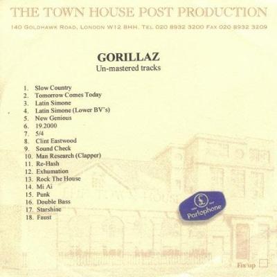 Gorillaz - Gorillaz (Un-mastered Tracks) (Album)