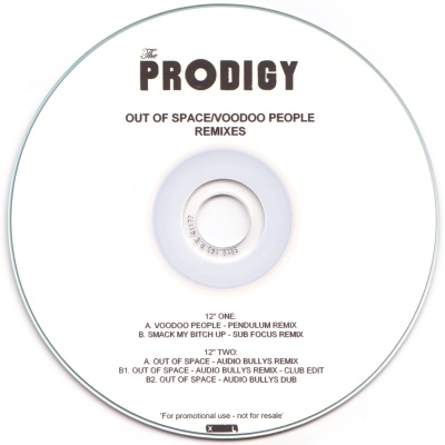The Prodigy - Out Of Space - Voodoo People (Remixes)