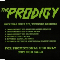 The Prodigy - Invaders Must Die / Thunder Remixes