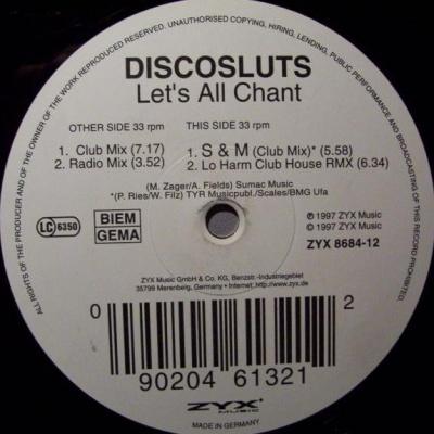 Discosluts - Let's All Chant