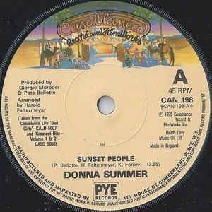 Donna Summer - Sunset People
