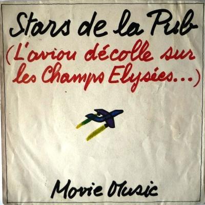 Movie Music - Stars De La Pub (L'Avion Décolle Sur Les Champs Elysées...)