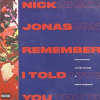 Nick Jonas - Remember I Told You