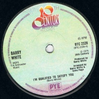 Barry White - I'm Qualified To Satisfy You