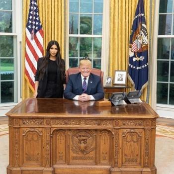 Ким Кардашьян встретилась с Трампом