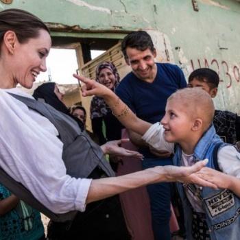 Анджелина Джоли посетила Ирак