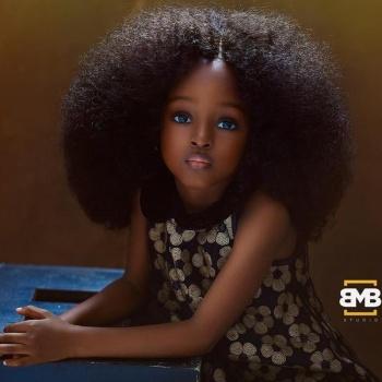 В Сети выбрали самую красивую девочку планеты