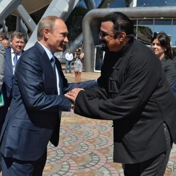 Стивен Сигал получил работу в Министерстве иностранных дел России