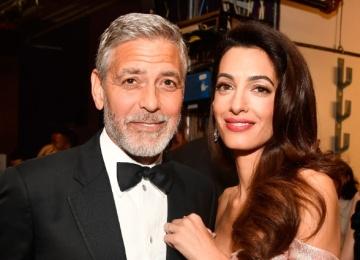 Джордж Клуни поддержал жену на важной конференции
