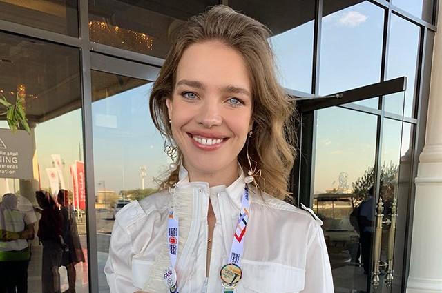 Наталья Водянова посетила Абу-Даби