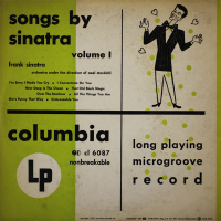 - Songs by Sinatra, Volume 1